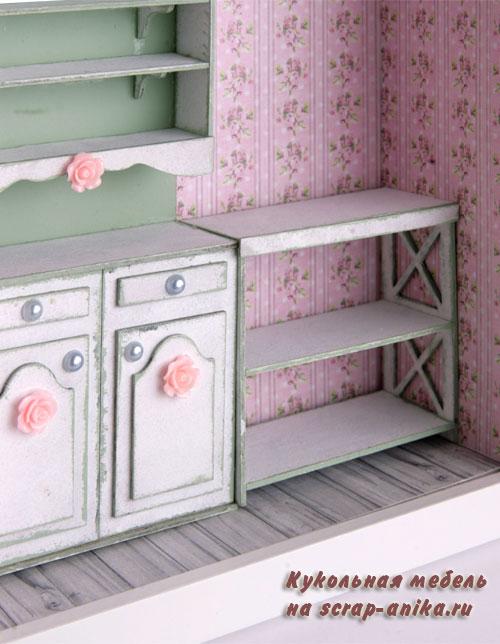 мебель для кукольной кухни, кукольная ккухня