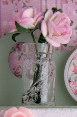 стиль шебби шик, розочки для румбокса, цветочки для румбокса