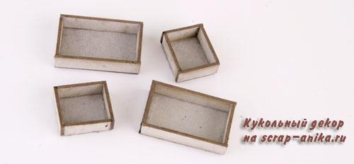 ящики из картона для румбокса, детали для румбокса