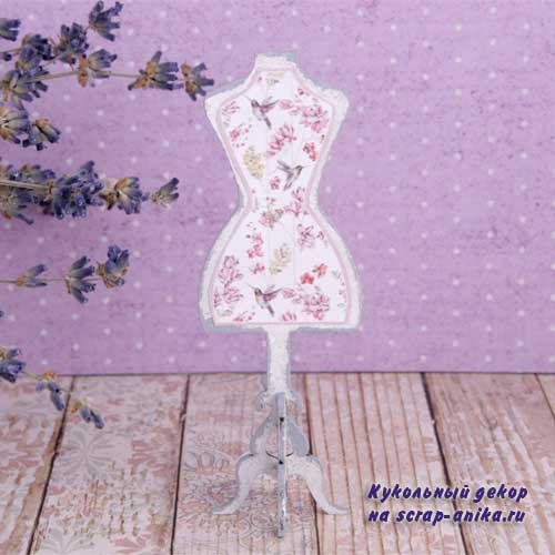 манекен для кукольного домика, швейная комната, швейный румбокс, румбокс швейная комната