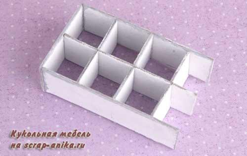 картонная мебель со схемами.