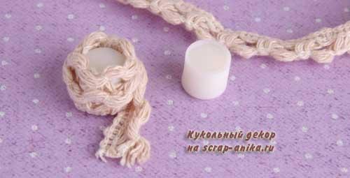 румбокс швейный, миниатюра швейная комната, румбокс миниатюра, стиль прованс