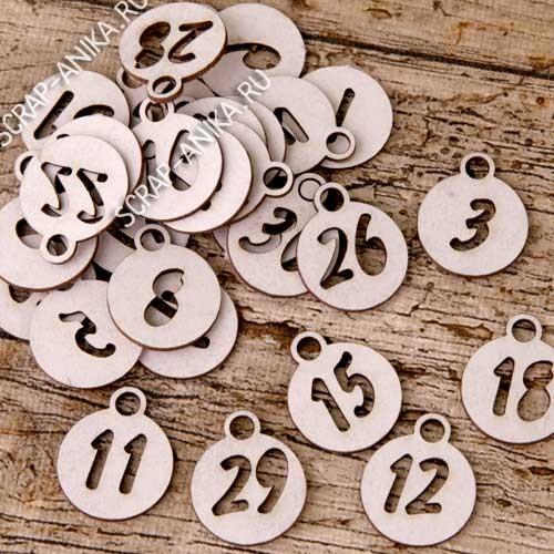 цифры для адвент календаря