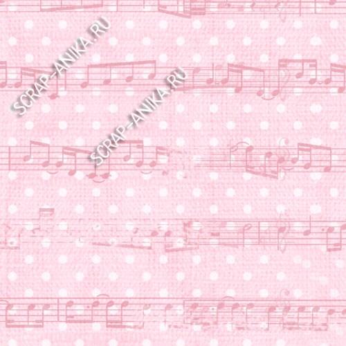 бумага с нотами
