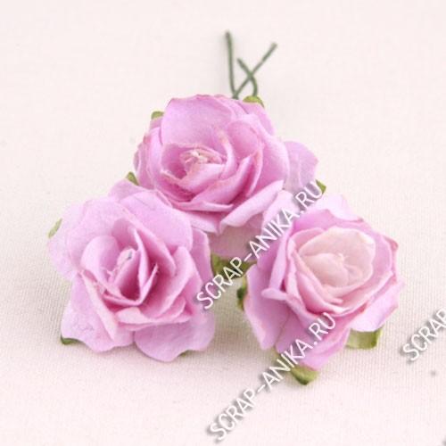 цветы для скрапа, цветочки для скрапбукинга