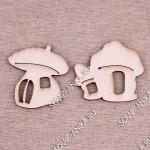 чипборды домики, чипборды грибы, грибочки-домики