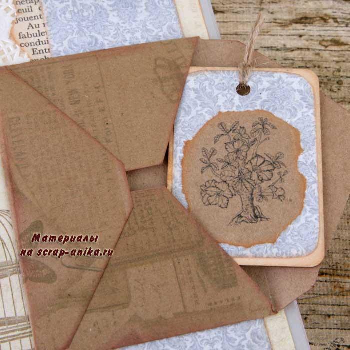 конвертики, конверты для скрапбукинга, конверты своими руками