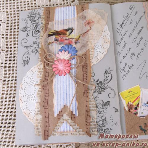 бумага с птичками, бумага с нотами, бумага для скрапбукинга, печать на кальке, печать на крафте