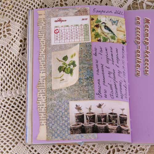 идеи для артбуков, офрмление страниц, странички в артбук, странички оформление, дневник, стильботаника, в ботаническом стиле