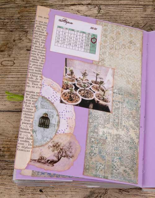 как вести дневник, дневник по цветоводству, скрапбукинг