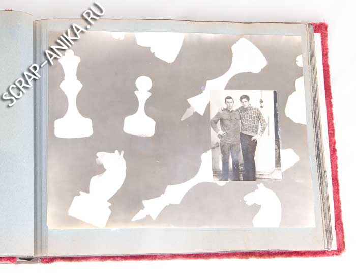 альбом, дембель, скрапбукинг, шахматы, шахматист