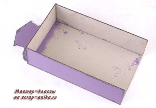 коробка своими руками, голландские домики своими руками, мастер класс к новому году, мастер класс по скрапбукингу