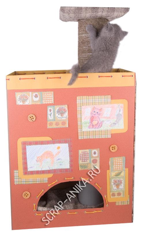 домик для кошки, кошкин дом
