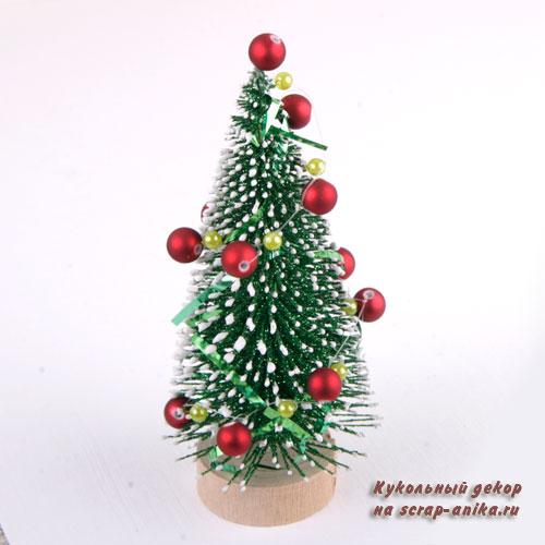 елка для румбокса, новогодний декор