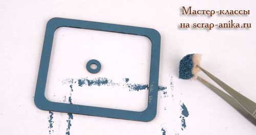 блоки на пружине, чипборды окрашивание, окрашивание чипбордов