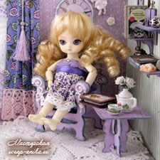 кукольный домик, кукольная мебель