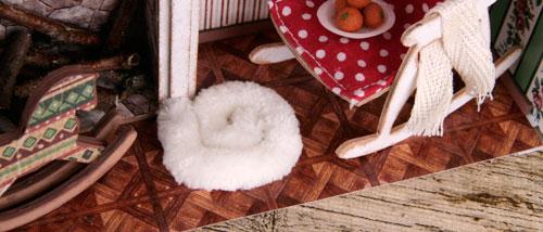 коврик в кукольный домик, как сделать кукольный домик, кукольный домик своими руками, кукольные домики