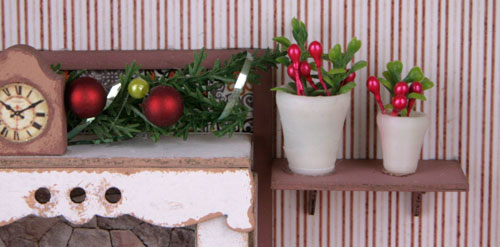 цветы для румбоксов, чем заполнить румбокс, румбокс детали, новогодний румбокс
