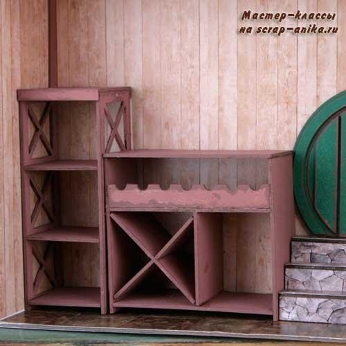 кукольный домик, дом хоббита, домик хоббита, кладовая хоббита, властелин колец