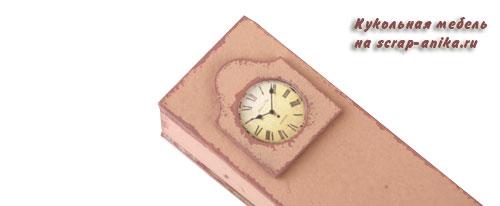 миниатюра, напольные часы