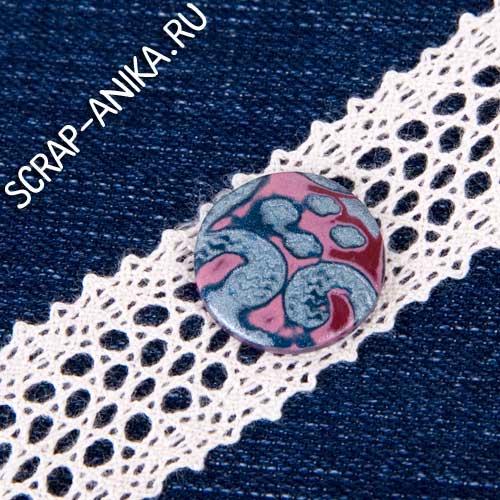 идеи, скрапбукинг, кружево, джинсовая ткань, отделка, оформление