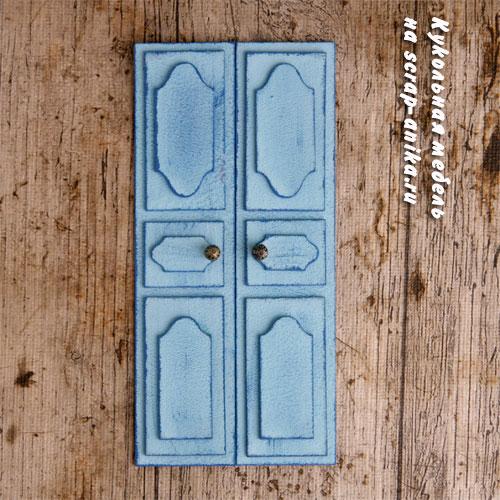 как сделать двери, скрапбукинг, скрап-аника