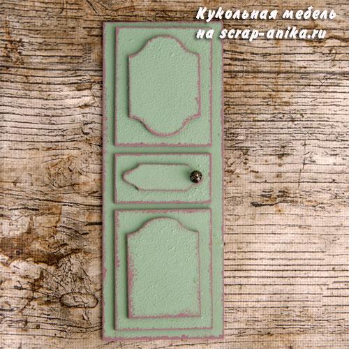 двери для миниатюр, дверидля кукольных домиков