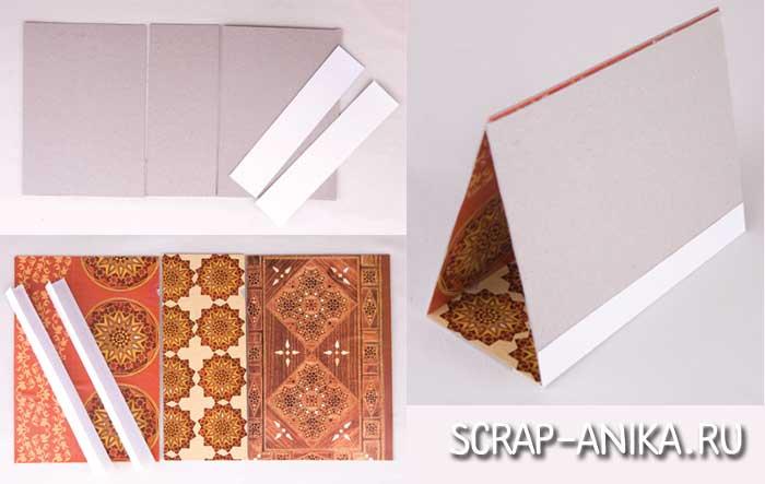 основа для настольного календаря, подложка, картон, бумага дизайнерская