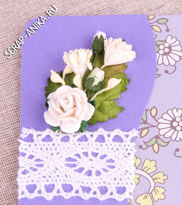цветы для скрапбукинга
