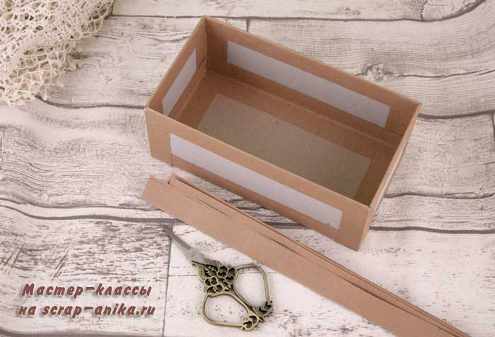 ящик для комода, комод своими руками, ящики из картона, картонаж