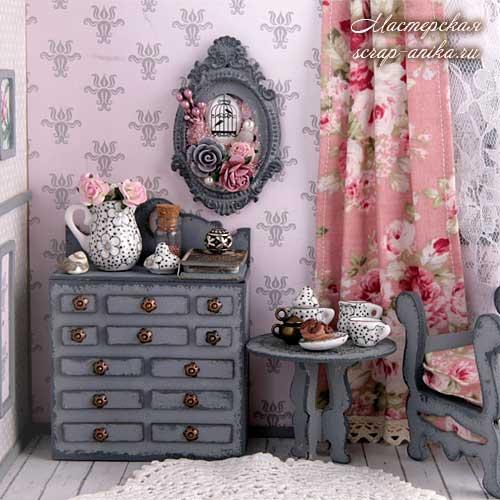 кукольный дом своими руками, кукольный домик, кукольный румбокс