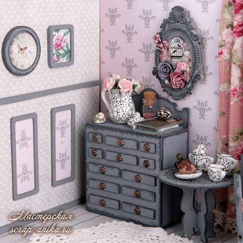 дизайн кукольного домика, кукольный румбокс