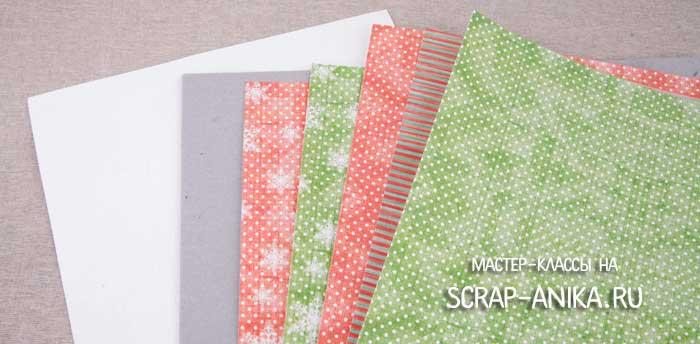 скрап-бумага, коллекции скрап-бумаги, переплетный картон