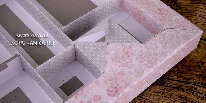 как сделать коробку своими руками, коробки своими руками, картонаж, скрапбукинг картонаж