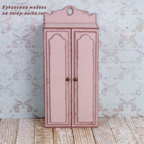 шкаф для куклы, кукольный дом, кукольная мебель