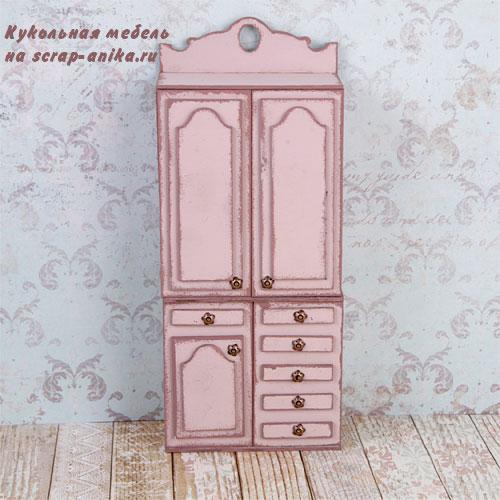 шкаф для куклы, кукольный домик, кукольные шкафчики