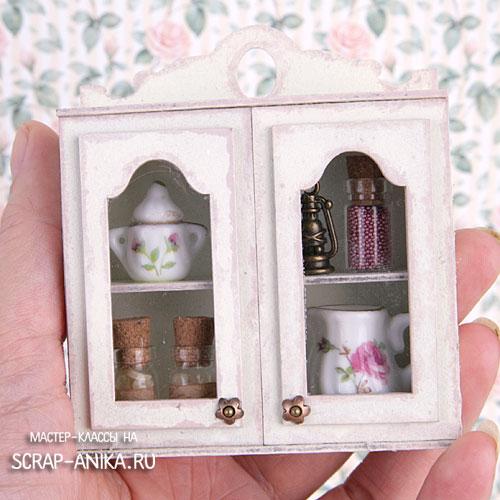 шкафчик в кукольный домик, кукольная мебель, кукольный домик, как сделать, где купить