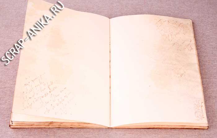 оформление страниц блокнота