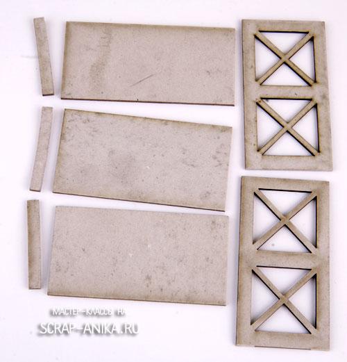 румбоксы мебель из картона