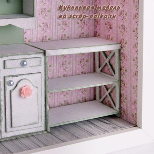 кукольная мебель из картона, кукольные домики мебель
