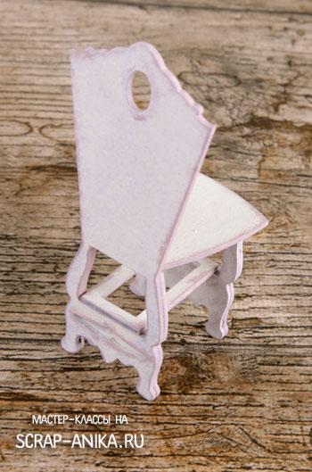 стул для куклы, стулья в кукольных домик