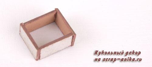 ящик из ротанга, ящик с джутом, как сделать красивый ящик